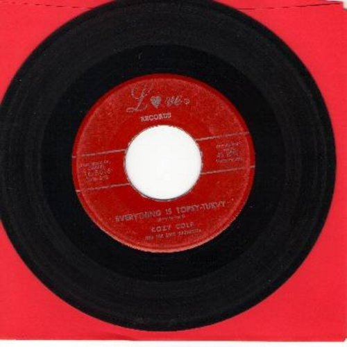 Cole, Cozy - (Everything Is) Topsy - Turvy/Bad (RARE follow-up to the hit -Topsy-) - VG7/ - 45 rpm Records