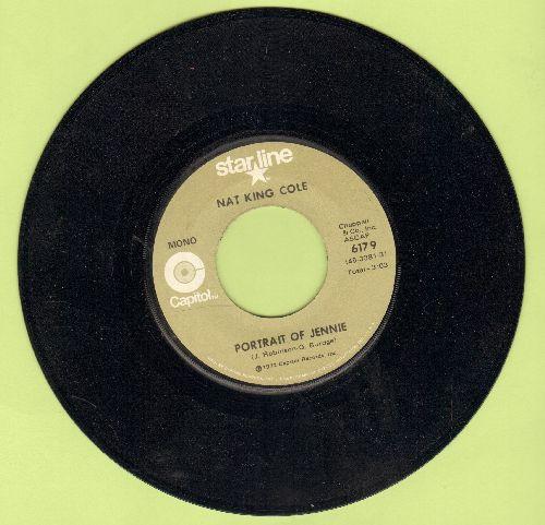 Cole, Nat King - Portrait Of Jeannie/Jet (double-hit re-issue) - EX8/ - 45 rpm Records