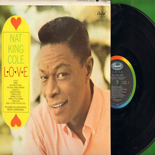Cole, Nat King - L-O-V-E: More, The Girl From Ipanema, Thanks To You, Coquette (vinyl STEREO LP record) - EX8/VG7 - LP Records