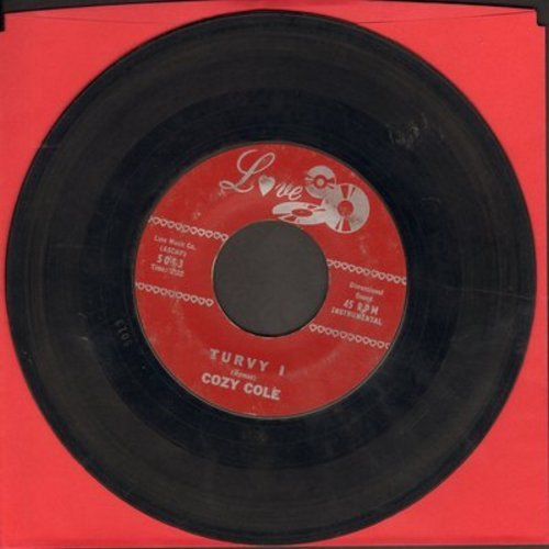 Cole, Cozy - Turvy (Parts 1+2) (not to be confused with TOPSY!) - VG7/ - 45 rpm Records