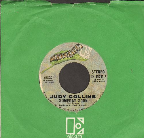 Collins, Judy - Someday Soon/Suzanne (with Elektra company sleeve) - EX8/ - 45 rpm Records