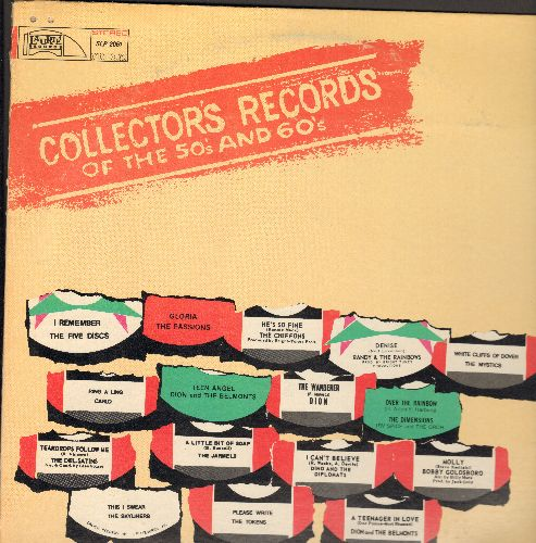 Five Discs, Chiffons, Dion & The Belmonts, others - Collector's Records of the 50s and 60s: I Remember, A Teenager In Love, Denise, Over The Rainbow, A Little Bit Of Soap, Ring A Ling (vinyl STEREO LP record) - NM9/EX8 - LP Records