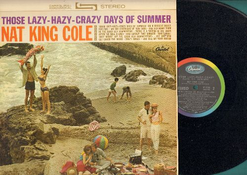 Cole, Nat King - Those Lazy-Hazy-Crazy Days Of Summer: On A Bicycle Made For Two, That Sunday That Summer, In The Good Old Summertime (vinyl STEREO LP record) - NM9/NM9 - LP Records