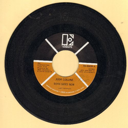Collins, Judy - Both Sides Now/Who Knows Where The Time Goes (minor wol) - EX8/ - 45 rpm Records