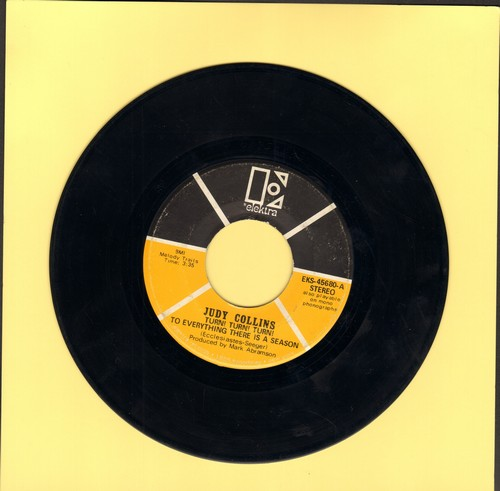 Collins, Judy - Turn! Turn! Turn! (To Everything There Is A Season)/Pack Up Your Sorrows - VG7/ - 45 rpm Records