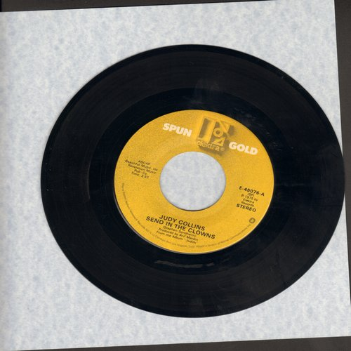 Collins, Judy - Send In The Clowns/Angel, Spread Your Wings (double-hit re-issue) - NM9/ - 45 rpm Records