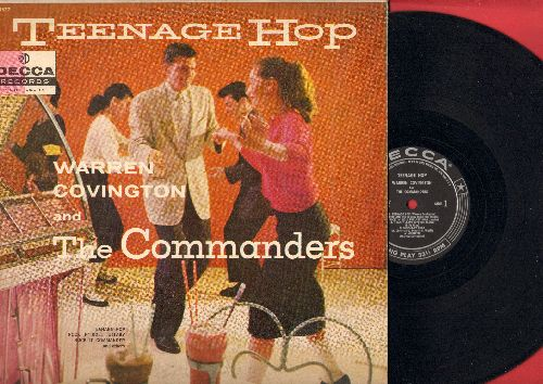 Covington, Warren & The Commanders - Teenage Hop: Marilyn, Rock'N'Roll Lullaby, Kick Off Your Shoes (vinyl MONO LP record) - VG7/VG7 - LP Records