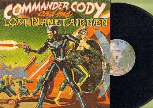 Commander Cody & His Lost Planet Airmen - Commander Cody & His Lost Planet Airmen: Southbound, Don't Let Go, California Okie, That's What I Like About The South (vinyl STEREO LP record) - NM9/EX8 - LP Records