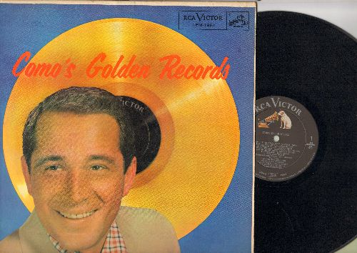 Como, Perry - Como's Golden Records: Temptation, Papa Loves Mambo, Wanted, Round And Round, Magic Moments, Hot Diggity (vinyl MONO LP record, 1958 first issue) - EX8/NM9 - LP Records