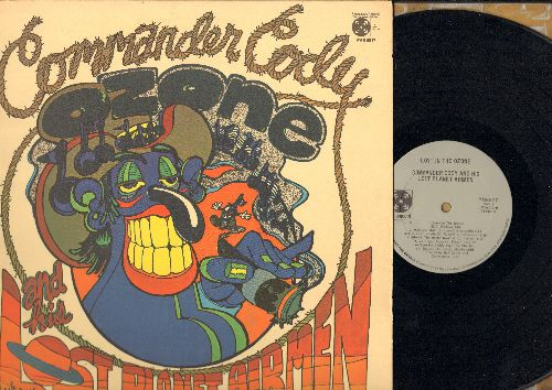 Commander Cody & His Lost Airmen - Lost In The Zone: Hot Rod Lincoln, Meat Me Daddy Eight To The Bar, 20 Flight Rock, Wine Do Yer Stuff (vinyl STEREO LP record) - NM9/VG7 - LP Records