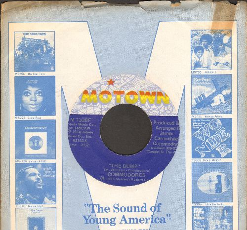 Commodores - The Bump/Slippery When Wet (with Motown company sleeve) - NM9/ - 45 rpm Records