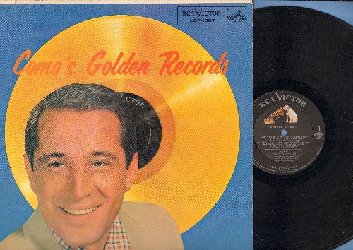 Como, Perry - Como's Golden Records: Temptation, Papa Loves Mambo, Wanted, Round And Round, Magic Moments, Hot Diggity (vinyl MONO LP record, 1958 first issue) - VG7/VG7 - LP Records