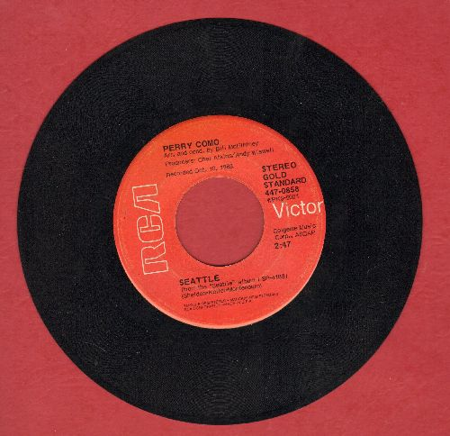 Como, Perry - Seattle/It's Impossible - VG7/ - 45 rpm Records
