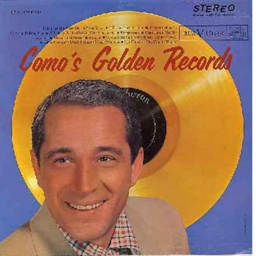 Como, Perry - Como's Golden Records: Temptation, Papa Loves Mambo, Wanted, Round And Round, Magic Moments, Hot Diggity (vinyl STEREO LP record, 1958 first issue) - M10/NM9 - LP Records