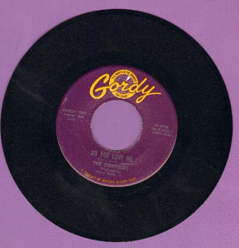 Contours - Do You Love Me/Move Mr. Man  - EX8/ - 45 rpm Records
