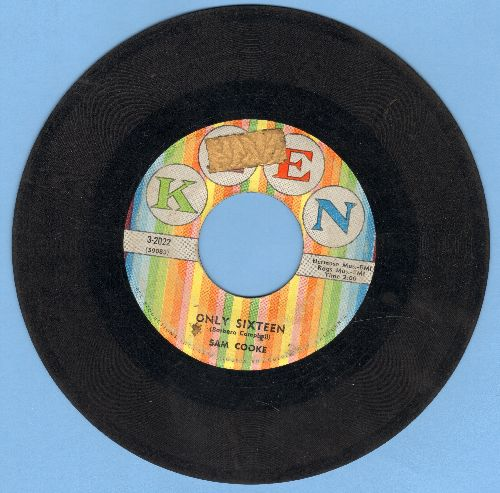 Cooke, Sam - Only Sixteen/Let's Go Steady Again (sol) - G5/ - 45 rpm Records
