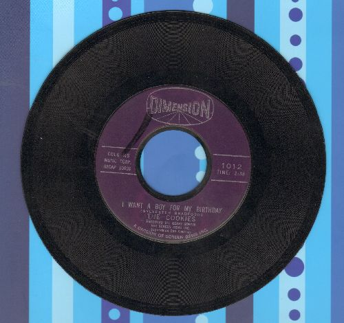 Cookies - I Want A Boy For My Birthday/Will Power - EX8/ - 45 rpm Records