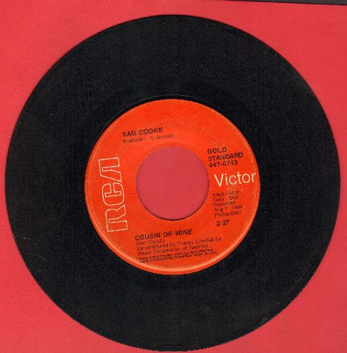 Cooke, Sam - Shake/Cousin Of Mine (double-hit re-issue, sol) - VG7/ - 45 rpm Records
