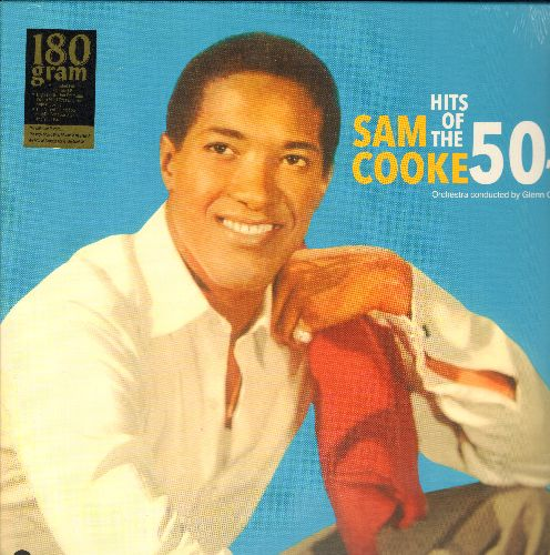 Cooke, Sam - Hits Of The 50s: Hey There, Mona Lisa, Unchained Melody, The Wayward Wind, Cry, Secret Love, Venus   (180 gram Virgin Vinyl re-issue, EU Pressing, SEALED, never opened!) - SEALED/SEALED - LP Records