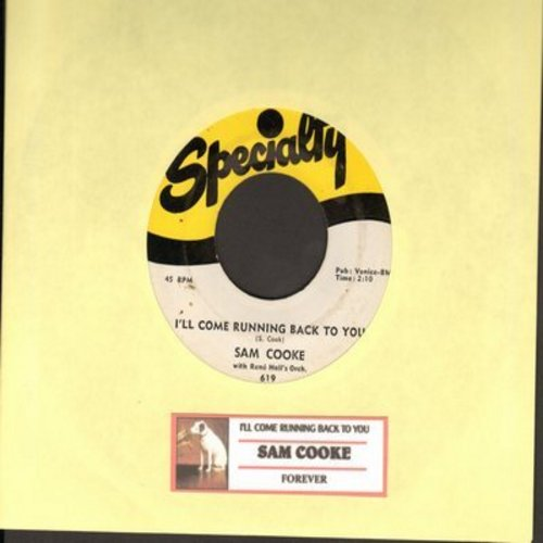 Cooke, Sam - I'll Come Running Back To You/Forever (with juke box label) - NM9/ - 45 rpm Records