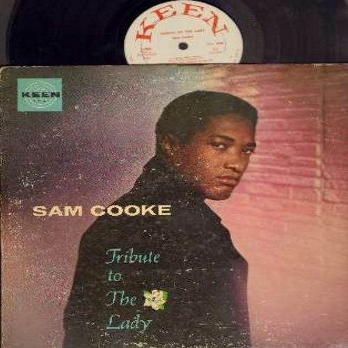 Cooke, Sam - Tribute To The Lady: God Bless The Child, Comes Love, T'Aint Nobody's Business If I Do, Let's Call The Whole Thing Off, Crazy In Love With You, Solitude (RARE DJ advance copy of first pressing) - VG7/VG6 - LP Records