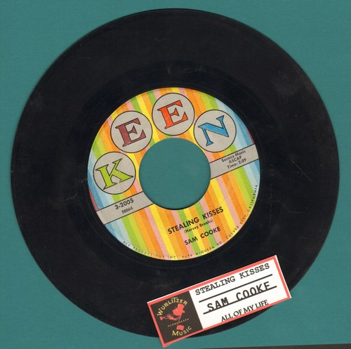 Cooke, Sam - Stealing Kisses/All Of My Life (multi-color label first issue with juke box label) - VG7/ - 45 rpm Records