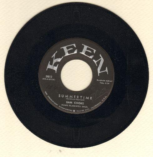 Cooke, Sam - Summertime (Parts 1 + 2) (black label, silver logo) - EX8/ - 45 rpm Records
