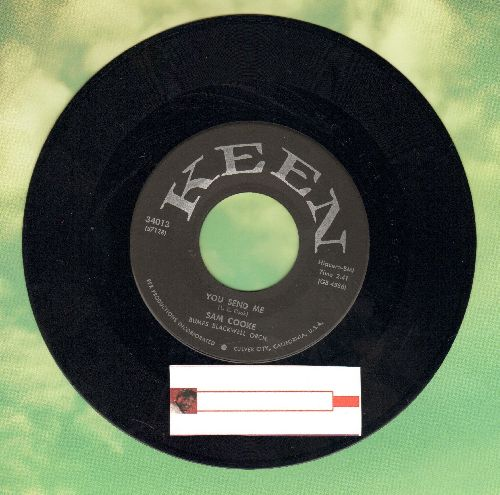 Cooke, Sam - You Send Me/Summertime (first pressing) - EX8/ - 45 rpm Records