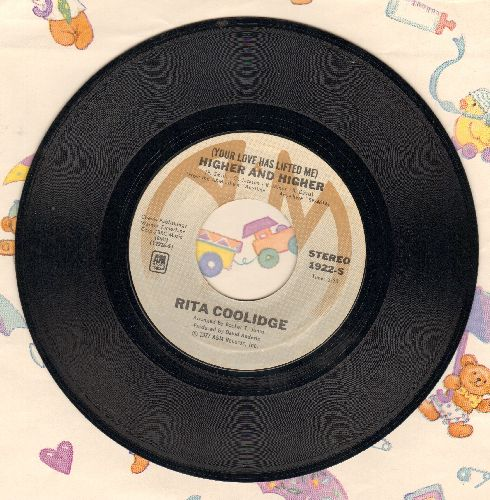 Coolidge, Rita - Higher And Higher/Who To Bless And Who's To Blame  - EX8/ - 45 rpm Records