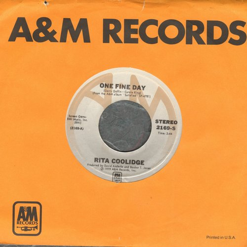 Coolidge, Rita - One Fine Day/Sweet Emotion - NM9/ - 45 rpm Records