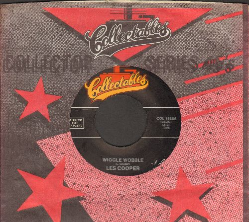 Cooper, Les - Wiggle Wobble/Dig Yourself (double-hit re-issue with Collectables company sleeve) - NM9/ - 45 rpm Records
