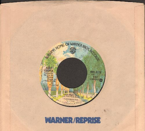 Cooper, Alice - Go To Hell/I Never Cry (with company sleeve) - VG7/ - 45 rpm Records