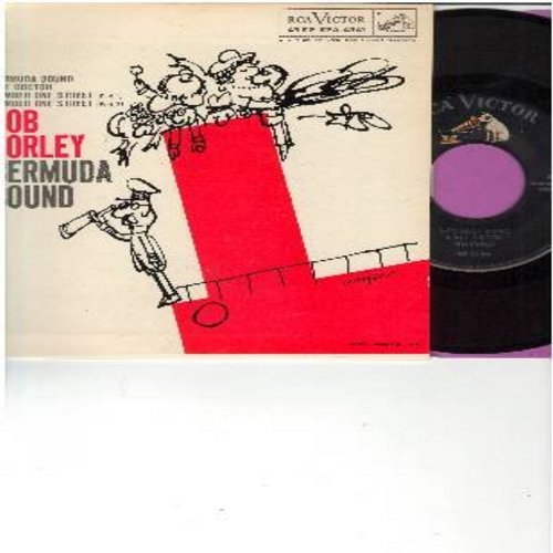 Corley, Bob - Bermuda Bound - vinyl EP record with picture cover, hilarious comedy routines! - NM9/NM9 - 45 rpm Records