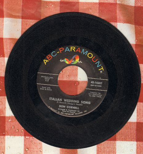 Cornell, Don - Italian Wedding Song/Please Lie To Me - EX8/ - 45 rpm Records