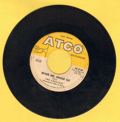 Coasters - Wake Me, Shake Me/Stewball - VG7/ - 45 rpm Records