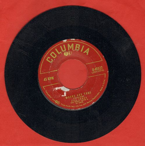 Corey, Jill - Where Are You?/Number One Boy - EX8/ - 45 rpm Records