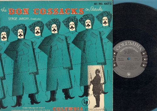 Don Cosacks - The Don Cosacks On Parade - Russian Folk Sogs with Songs of Gretchaninov and Scenes from Glinka's Life of the Czar (vinyl MONO LP record) - EX8/EX8 - LP Records