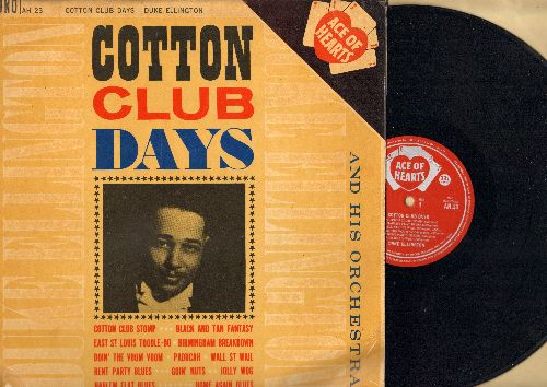Ellington, Duke & His Orchestra - Cotton Club Days: Doing The Voom Voom, Jolly Wog, Brimingham Breakdown (1962 British issue of vintage 1920s Jazz recordings!) - NM9/EX8 - LP Records