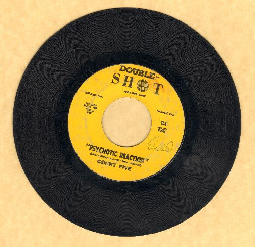 Count Five - Psychotic Reaction/They're Gonna Get You - VG7/ - 45 rpm Records