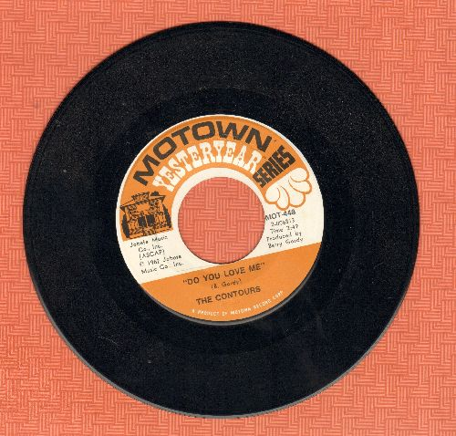 Contours - Do You Love Me/Shake, Sherrie (MINT condition re-issue)) - M10/ - 45 rpm Records
