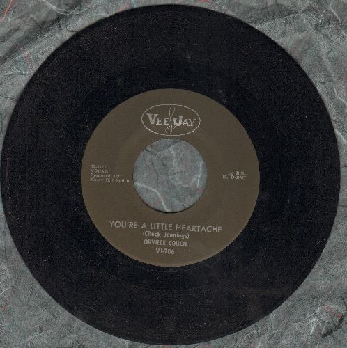 Couch, Orville - Color Me Gone/You're A Little Heartache - NM9/ - 45 rpm Records