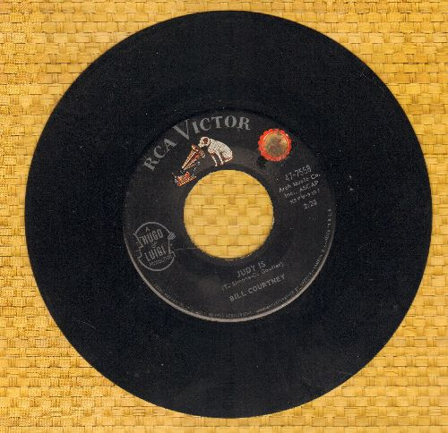 Courtney, Bill - Judy Is/Without Her Love (sol) - EX8/ - 45 rpm Records