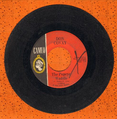 Covay, Don - The Popeye Waddle/One Little Boy Had Money  - VG6/ - 45 rpm Records