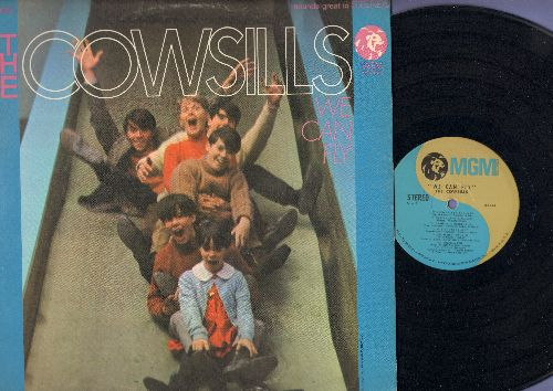 Cowsills - We Can Fly: Gray Sunny Day, One Man Show, What Is Happy Baby (vinyl STEREO LP record) - NM9/EX8 - LP Records