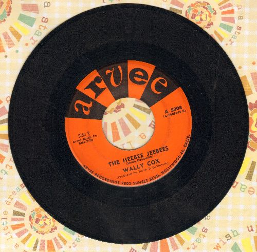 Cox, Wally - The Heebee Jeebees/I Can't Help It - VG7/ - 45 rpm Records