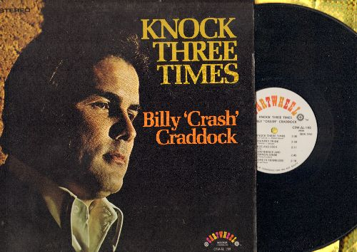 Craddock, Billy Crash - Knock Three Times: Lonely Boy, Hide And Seek, Country Pride, The Best I Ever Had (vinyl STEREO LP record) - NM9/EX8 - LP Records