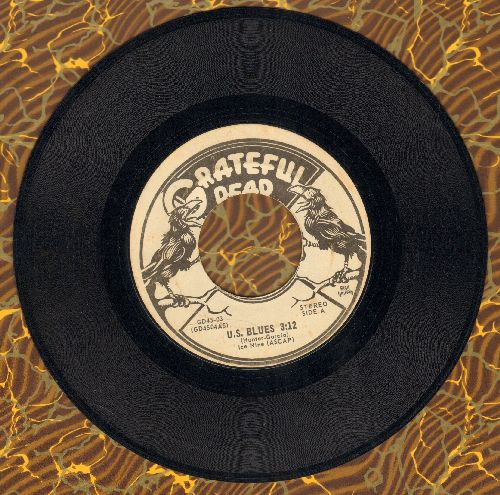 Grateful Dead - U.S. Blues/Loose Lucy - EX8/ - 45 rpm Records