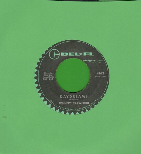 Crawford, Johnny - Daydrams/So Goes The Story - VG7/ - 45 rpm Records