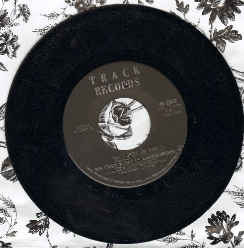 Crazy World Of Arthur Brown - I Put A Spell On You/Nightmare (bb) - NM9/ - 45 rpm Records