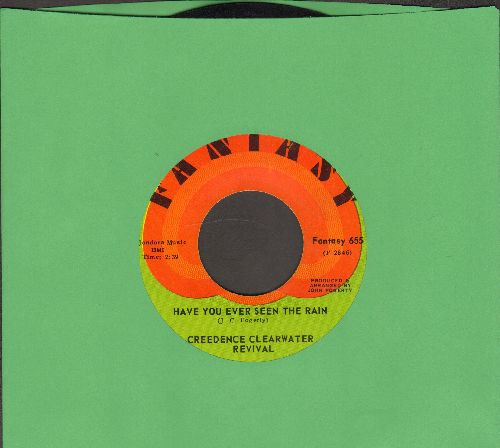 Creedence Clearwater Revival - Have You Ever Seen The Rain?/Hey Tonight - NM9/ - 45 rpm Records